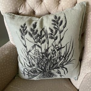 Ikea linen pillow covers set of two